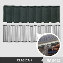 popular colorful stone coated metal roofing shingles/sheets
