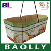 B-flute Cardboard Box Manufacturers for fruit with rope handle b-c-456798