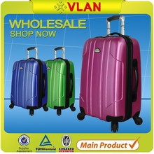 Guangzhou full size light weight durable trolley suitcase in guangzhou factory manufacturer