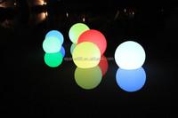 Floating led pool ball 16 colors waterproof IP65 rechargable RGB led pool ball