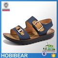 Hobibear 2015 de boa qualidade wearable e modelo de moda sandália para meninos