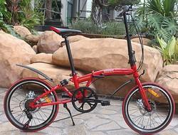 2015 best suspension leisure Q7 disc brakes folding bicycle