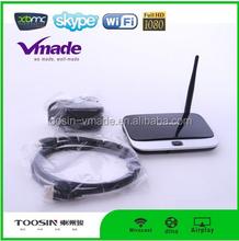 2015 Rockchip Quad Core Android 4.4 Smart TV Box CS918 Media Player 1080P Wifi