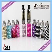 Electronic Cigarette Vapor Pen 1100mAh Diamond Ego G Bling Battery