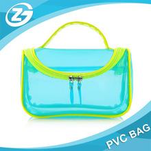 Portable Colorful Waterproof PVC Makeup Case Bag Travel Organizer Toiletry Wash Bag Pouch