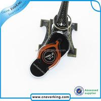 Custom acrylic plastic key chain blank keyring for promotion