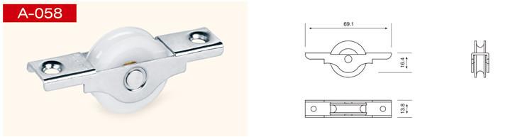 roues de portes coulissantes en aluminium automatique capteur verre porte coulissante pour. Black Bedroom Furniture Sets. Home Design Ideas