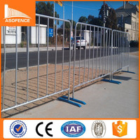 Portable security metal concert used crowd control barrier fence