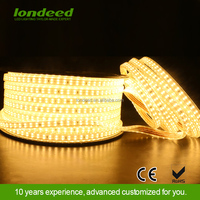 Londeed home lighting smd 5050&2835 waterproof ip65 wide beam angle black led strips light waterproof for decor