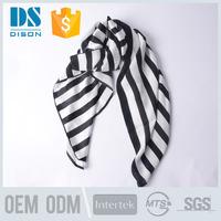 Digital Printing High Quality Chiffon Silk Head Scarf