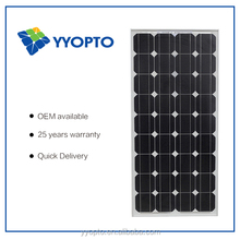 solar led street light use 100W mono solar panel TUV