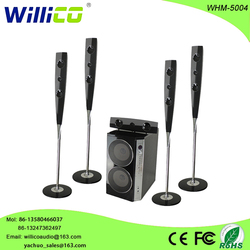 Willico factory outlets speakers factory outlets amplified speakers 5.1 active home theater system whm-5004