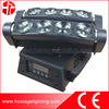Professional disco lighting 8X10w 4 in 1 moving beam spider moving light