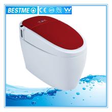 2015 multifuncional inodoro electrónica para exquisito y lujoso baño