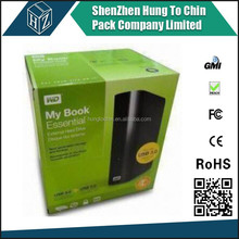Custom size made in China flexo color paper box gift box packaging box
