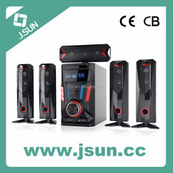 2015 New Products 5.1 Multimedia Speakers Home Theatre with USB/SD/Remote