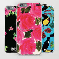 China trust manufacture supplies bulk 3D water transfer pattern cell phone case for iphone 6