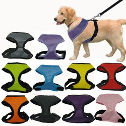 Wholesale Pet Dog Harness Lead Adjustable pet harness 10 colors IPET-PH09
