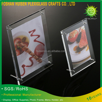 Wholesale Clear Acrylic Picture Frame Display Stand