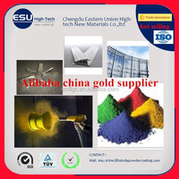 Alibaba china gold supplier RAL Color aluminum radiator finish powder coating