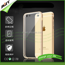 Hot sale!!Luxury Ultra thin Aluminum Bumper +pc back cover cell Phone Case for iphone 6/ 6 plus alibaba china supplier