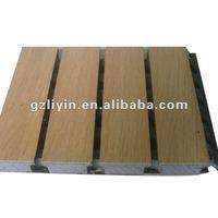 Black MDF Waterproof Acoustic Panel