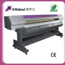 X-Roland 2.2m rápido de alta precisión imprenta solvente de gran formato