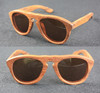 merbau wood sunglasses vintage round wooden sunglasses