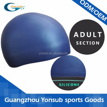 silicone leak proof swimming caps for lady