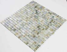 wall and floor decoration materials antique glass mosaic tile (thickness4 or 6mm)