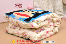 big size cartoon printing mouth monkey dual-used pillow cushion and summer quilt