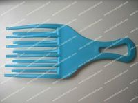 Afro comb,plastic hair afro comb