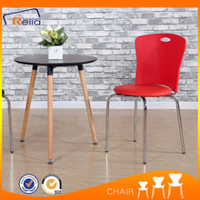 Comfortable leisure dining chair with cushion