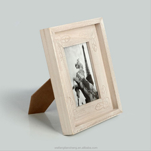 Distressed wood picture frames antique European style stand