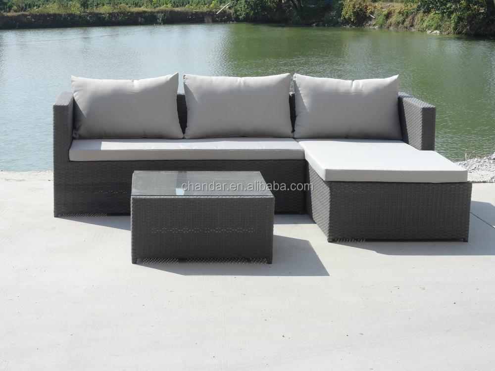 Ch w187 jardin meubles rotin ext rieur canap meubles for Canape rotin exterieur