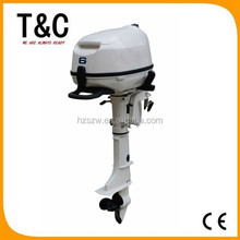 gasoline fishing boat outboards zhejiang manufacturer 6 HP 4 stroke wholesale electric motor outboard for sale with cheap price