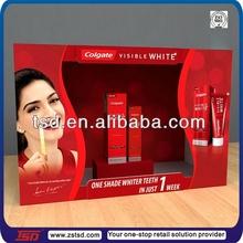 TSD-C228 retail store countertop cardboard paper display box,merchandising display box,cardboard point of sale display box