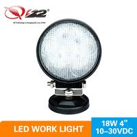 High intensity low cost 18w led work light added to your truck utv atv for led outdoor lighting