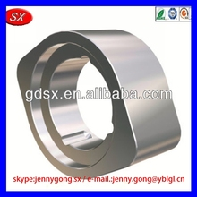 High Quality cnc machine parts for military use q235a steel used on drink machine