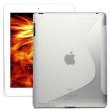 iPad 2 3 4 S TPU GEL White Case