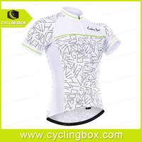 Short sleeve cycling jersey anti UV bicycle clothes high pro quality accept custom
