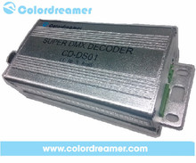 Smart tiny ws2811 dmx controller,rgb dmx decoder,reliable supper dmx to spi decoder