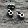 2015 nuevo estilo pequeños accesorios de aleación de titanio de acero frenos con cordón cordón cuerda frenos