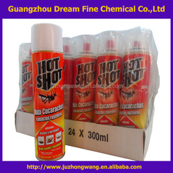 Hot Shot bed bug killing pesticides spray/export africa india insecticide spray