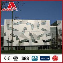 building materials aluminium composite sheets exterior wall cladding dibond sheet both sides