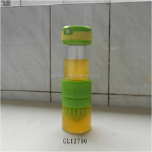 2015 new BPA free borosilicate glass juicer bottle with hand strap