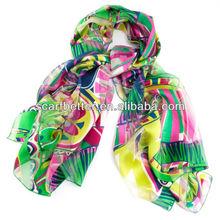 2015 fashionable silk scarf