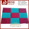 60*90cm, decorative home door mat, non-slip pvc cushion mat/pvc floor mat