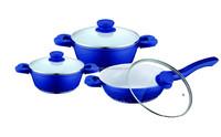 6pcs Die casting aluminum cookware