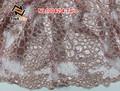 heave francês laço de corda bordado estilo africano vestidos de noiva 2015 nl10042